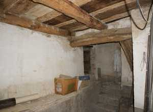 Attic with old beams