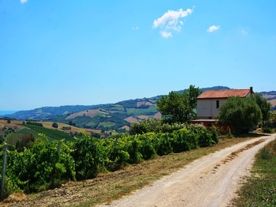 Casolare in a wonderful landscape