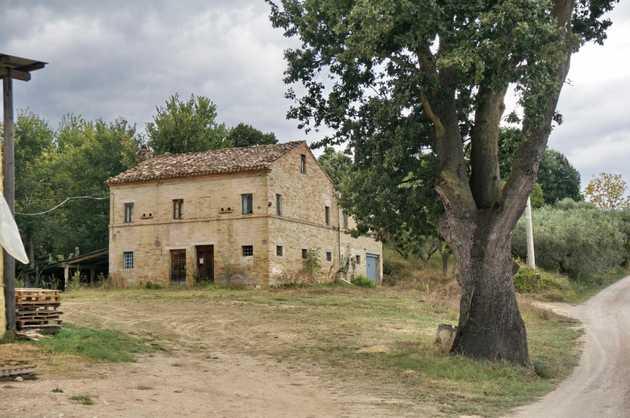 Case Di Campagna Marche : Grande casa di campagna in collina
